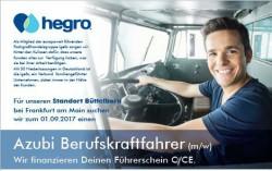 Ausbildung zum Berufskraftfahrer (m/w)