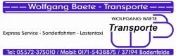 Biete Express-Service und Sonderfahrten an