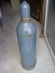 Stahlflasche 45kg