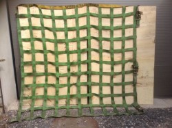 Gurtbandnetze von Wistra Safeguard – Ladungssicherung Wechselbrücke