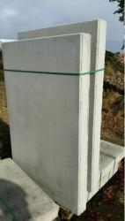 6 L-Steine Höhe 1,55 m Breite 1 m