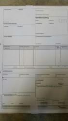 Endlos-Speditionsauftrag VDA 4922