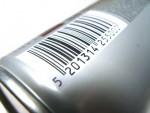 Barcode auf Produkt