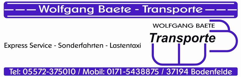 Wolfgang.BaeteTransporte e.Kfm.