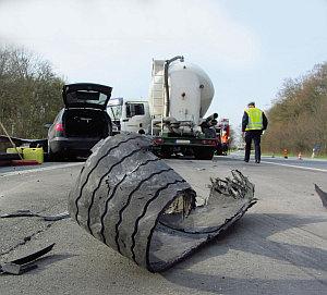 Lkw Unfall Autobahn