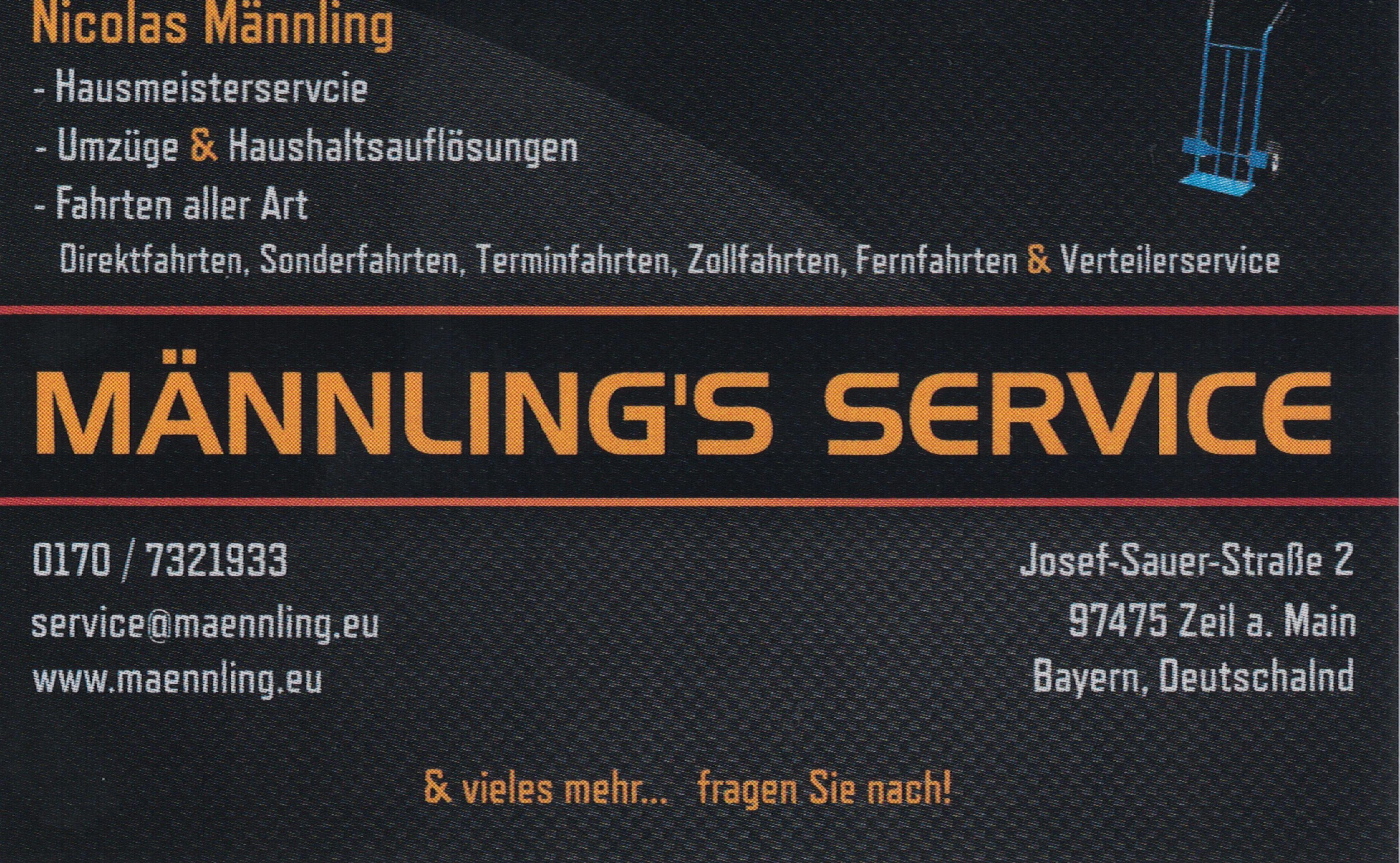 MÄNNLING'S SERVICE