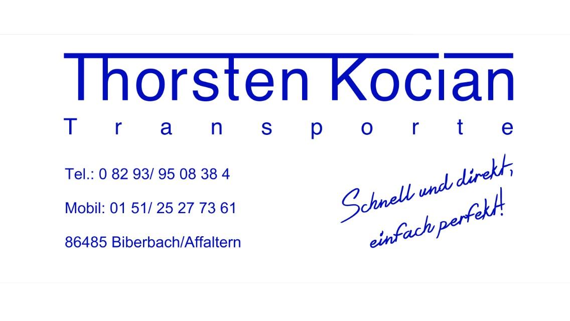 Thorsten Kocian Transporte