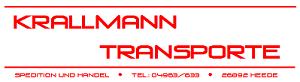 Krallmann Transporte + Spedition + Handel e. K.