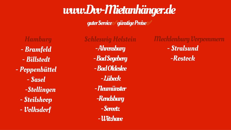 Dvv-Mietanhänger