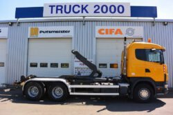 Scania Abroller 6×4 3 achser von 27367 Sottrum nach 04023 Kosice Tschechien