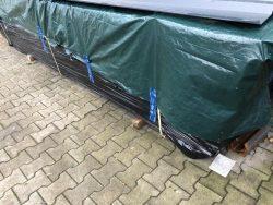 2 Stapel 2, 5 t  Fassadenholz  400x100x100cm