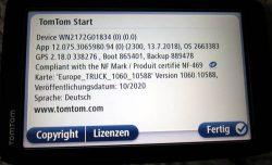 TomTom start 60 6 Zoll Truck Version