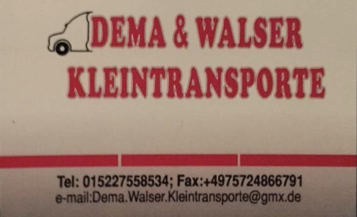 Dema&Walser Kleintransporte
