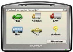 TomTom Go 7000 Europa Truck Juli 2020