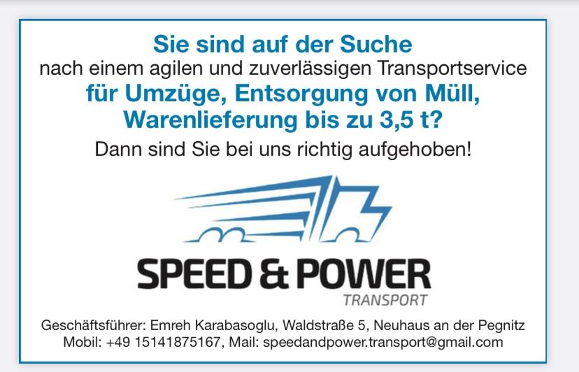 Speed & Power Transport