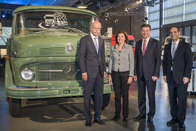 Daimler Vorstandschef Dieter Zetsche