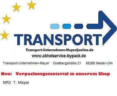 Transport-Unternehmen-Mayer