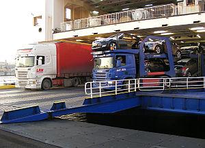 Kieler Seehafen Umschlag 2013