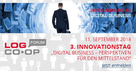 "LogCoop: 3. Innovationstag ""Digital Business – Perspektiven für den Mittelstand"""