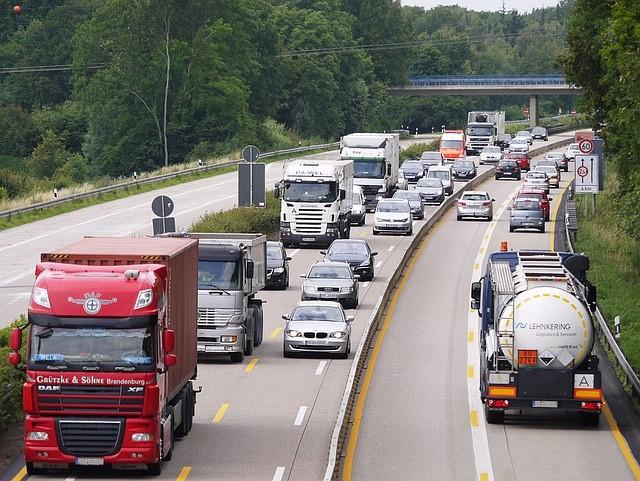 LKW-Autobahn