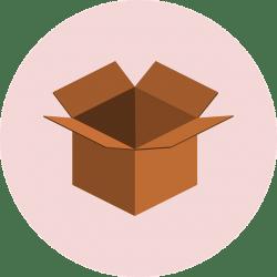 etikettierung und adressierung kunden ankommen gut beim kunden umverpackung optimal