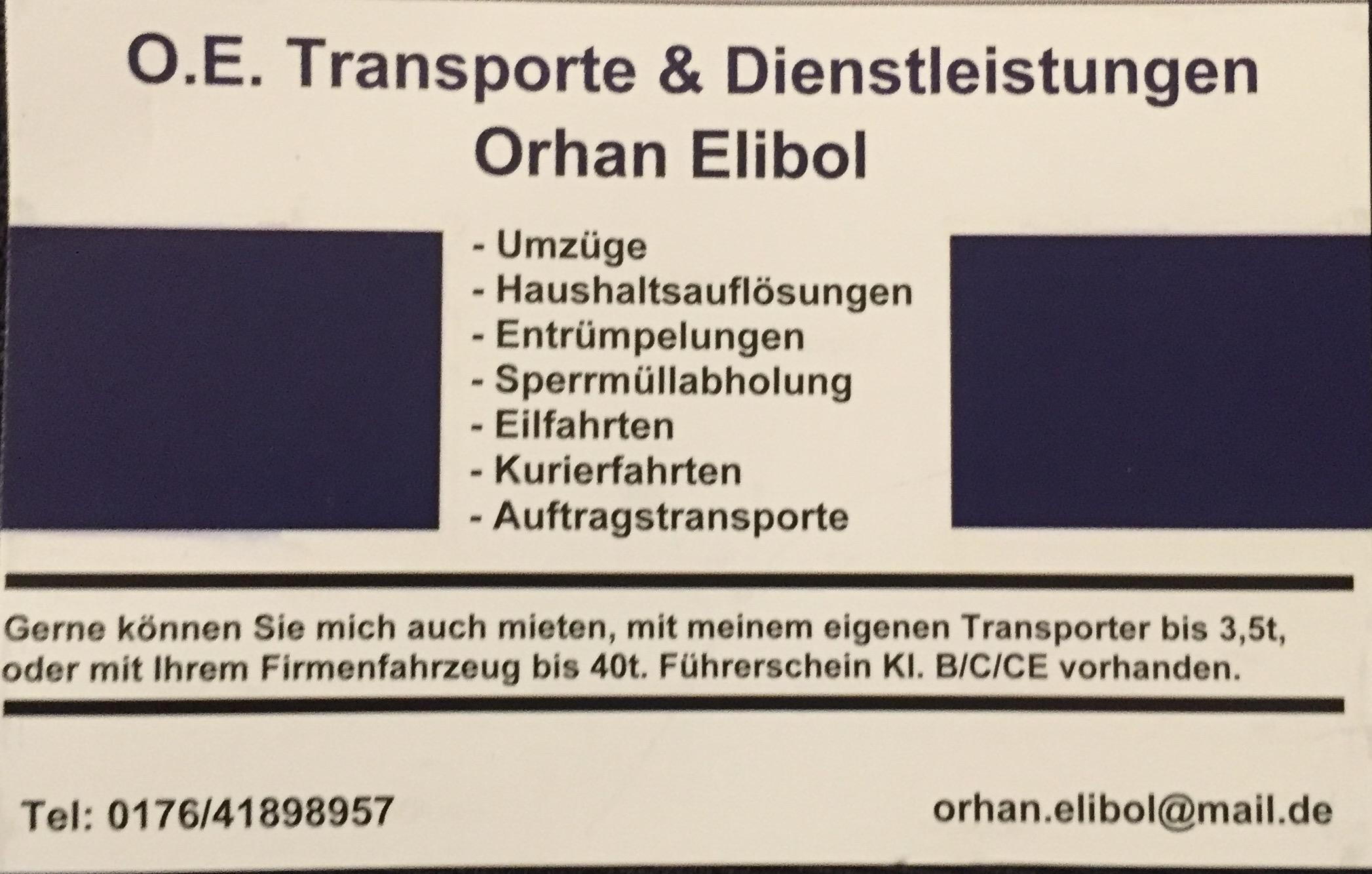 O.E. Transporte und Dienstleistungen Orhan Elibol