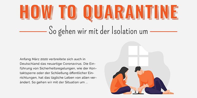 Quarantäne Zeit – Ausnahmezustand für Logistik und den Einzelnen