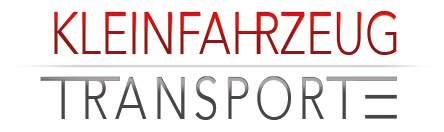 Kleinfahrzeugtransporte